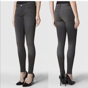 All Saints The Ashby Low Rise Skinny Fit Jeans